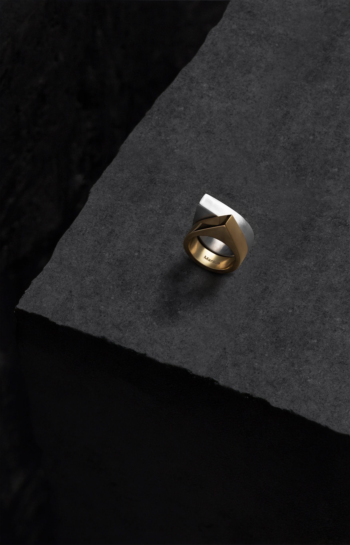 Isos parejas anillos oro y plata